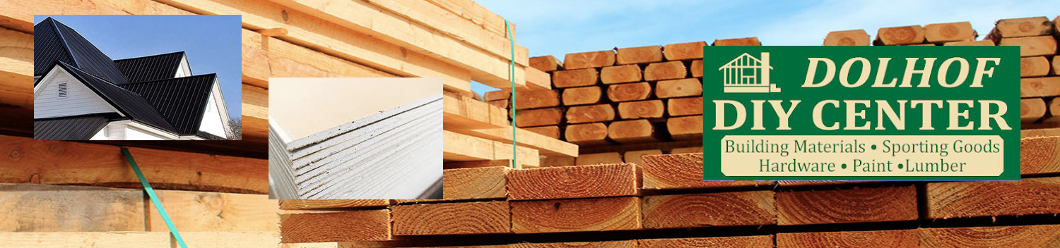 Home & Camp Building Supplies ...lumber, roofing, sheet rock, plywood, flooring, etc!